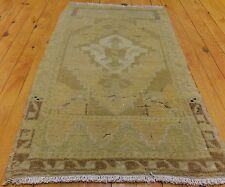 """Antique 1900-1930s Overdyed Tribal Rug 1'7"""" × 3'"""