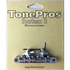 TonePros NVR2P-N Standard Nickel Nashville Post Tuneomatic Notched