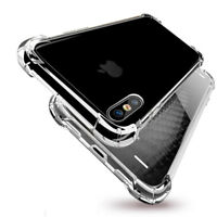 For iPhone X, 7, 8 And 7, 8 Plus and Clear Case Shockproof Hybrid Bumper Cover