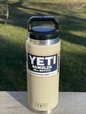 Yeti Sand 26oz Rambler Bottle New Sold Out Online