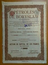 Petroles de Boryslaw - Oekraine