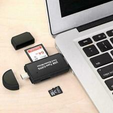 Type C Micro USB & USB TF Card Reader 3 in 1 OTG Adapter For Samsung Huawei