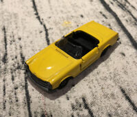 Matchbox Superfast Lesney Mercedes 230 SL; No. 27 Yellow; year 1971-72; no box.