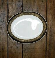 NEW Mikasa Narumi Bone China Mount Holyoke #114 Oval Vegetable Dish Serving Bowl