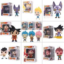 Funko Pop!Dragon Ball Z:Goku Beerus Super Saiyan Vegeta PVC Vinile Azione Figura