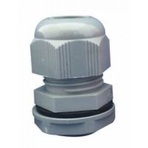 M50 NYLON CABLE GLAND WITH LOCK NUT PACKS OF 5