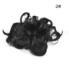 Extensions Curly Messy Bun Hair Piece Scrunchie Cover Hair Real Human Hair