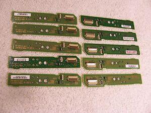 Ten Wii U Gamepad Power , TV, Home Button Board Replacement Part ( 10pc)
