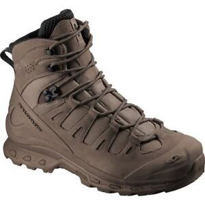 NEW Salomon Forces Quest 4D Burro military breathable tactical boots Brown SEAL