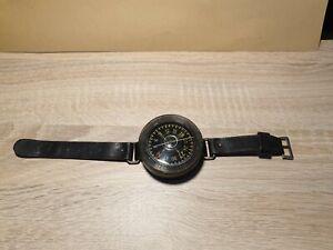 Luftwaffe Armkompass, Kadlec AK39, schwarz, Fl23235, Werknummer: 37127
