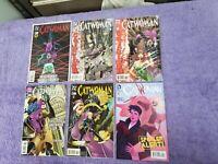 CATWOMAN - LOT OF 6 - DC Comics - ISSUES - 54 56 57 61 62 42 LB1R