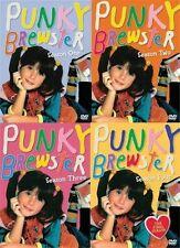PUNKY BREWSTER COMPLETE SEASON 1 2 3 4 DVD Set Series TV Show Kids Children Play