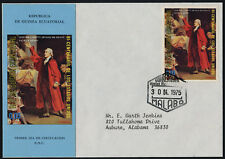 Equatorial Guinea MI 229 on addressed FDC - Patrick Henry, American Bicentennial
