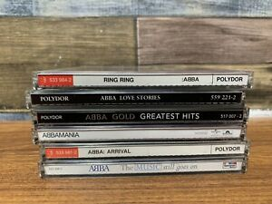Collection of 6 x ABBA Music CDs