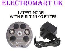 Freeview Digital Tv Antena Amplificador De Señal Booster 2 vías construido en filtro 4G