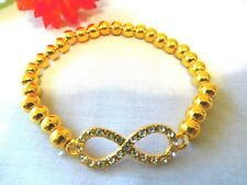 NEW Bracelet Clip-On Gold Silver Tone Jewelry US Seller Stock Menwomenstyles