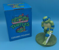 Teenage Mutant Hero Turtles Vintage Ninja Figure Leonardo 90s TMNT Collectible
