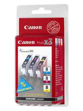 Canon CLI-8 Yellow, Cyan, Magenta Ink Cartridge
