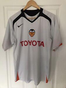 Valencia Football Shirt 2005/06 Medium Nike Classic Soccer Jersey Spain Camiseta