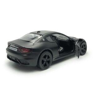1:36 Maserati GranTurismo MC Model Car Diecast Toy Vehicle Kids Collection Black