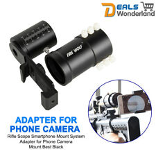 Rifle Scope Smartphone Mount System Adapter for Phone Camera Mount