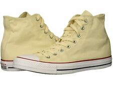 New CONVERSE All Star Size 17 Natural Ivory Canvas High Top Sneakers MSRP $55