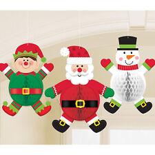 Christmas Characters Honeycomb 35cm