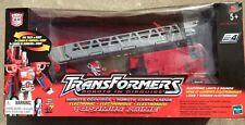 TRANSFORMERS ROBOTS IN DISGUISE (RID) OPTIMUS PRIME FIRE TRUCK 2001 -- CIB