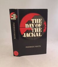 The Day Of The Jackal-Frederick Forsyth-SIGNED!-First U.K. Edition/10th Printing