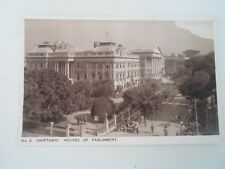 CAPE TOWN, Houses of Parliament - Union of South Africa Postcard  §B193