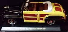 1946 Ford Classic Woody Convertible Woodie Station Wagon Miniature Toy Model