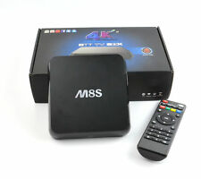 M8S 4K Android TV Box IPTV KODI XBMC WiFi Amlogic S812Quad Core 8GB ROM
