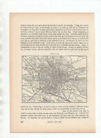 1885 Antique Map Of  Dublin