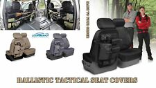 Jeep Wrangler Seat Covers - Cordura Ballistic - Tactical MOLLE on Front & Rears