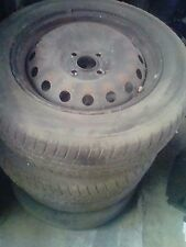 Fiat Grande Punto 4 cerchi in ferro 4 fori con gomme 185/65R15 88T
