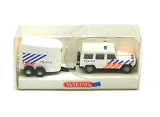 Wiking 066 02  Mercedes-Benz G 320 - Pferdetransport / Polizei Holland