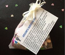 Groom's Survival Kit - Wedding Gift For Groom - Groom To Be Keepsake Gift Favour