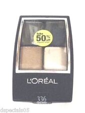 L'Oreal Wear Infinite Quad EyeShadow Forest Smokes 336 Sealed