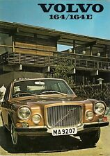 Volvo 164 & 164E 1971-72 UK Market Sales Brochure