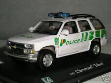 CHEVROLET TAHOE POLICE SUISSE  CARARAMA 1/43 REF OLIEX 51020
