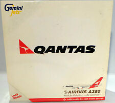 AVIATION : QANTAS AIRBUS A380 1:400 DIE CAST GEMINI JETS II MODEL MADE IN 2O06
