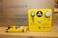Civil Defense CD V-750 Radiological Dosimeter Charger  W/4 PENS OCDM 5B