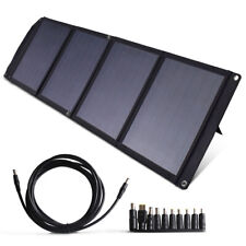 Tenergy Portable 60W Solar Panel Foldable Charger 18V Charging 5V USB CE ROHS