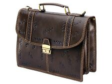 Briefcase Leather Handmade Bag New Designer Stylish Carrying Case for Men New