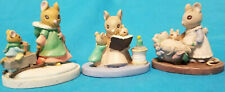 Vintage Avon 1980's Set of 3 Avon forest Friends Figurines