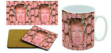 Donald Trump - President Trump - Annoying Mug & Coaster Set