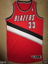 Jon Diebler #33 Portland Trailblazers Adidas Team NBA Authentics Jersey 2XL