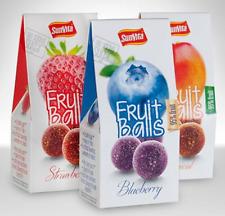 Fruchtbällchen 3 geschmack 95% Frucht mit Apfelbasis GeschenkBox 3erPack(3x80g)