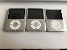 Apple iPod Nano 3rd Generation 8GB Silver MP3 Player W New battery!!!