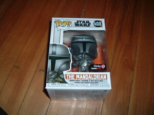 FUNKO POP! THE MANDALORIAN #408~ GAMESTOP EXCLUSIVE~ MINT~ STAR WARS SERIES~